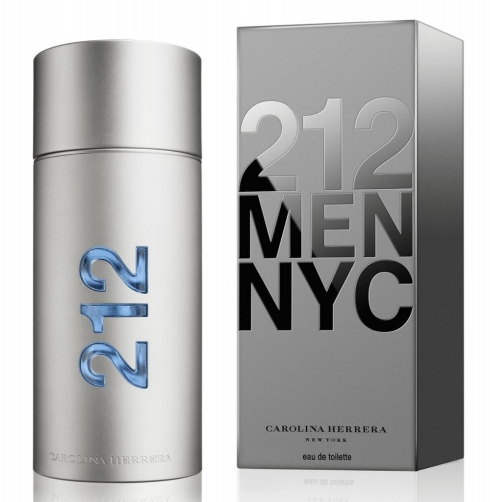 Perfume Carolina Herrera 212 Men NYC Eau de Toilette Masculino 100ML*