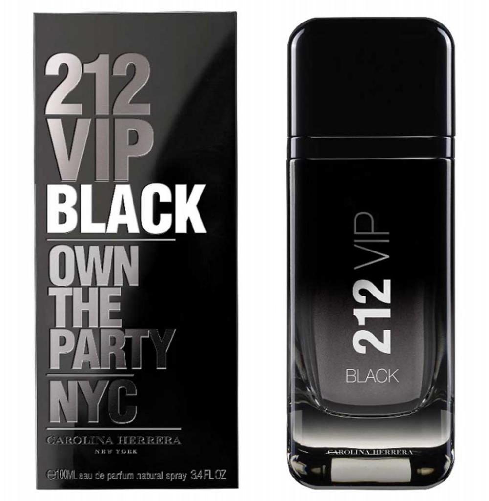 Perfume Carolina Herrera 212 Vip Black Eau de Parfum Masculino 100ML