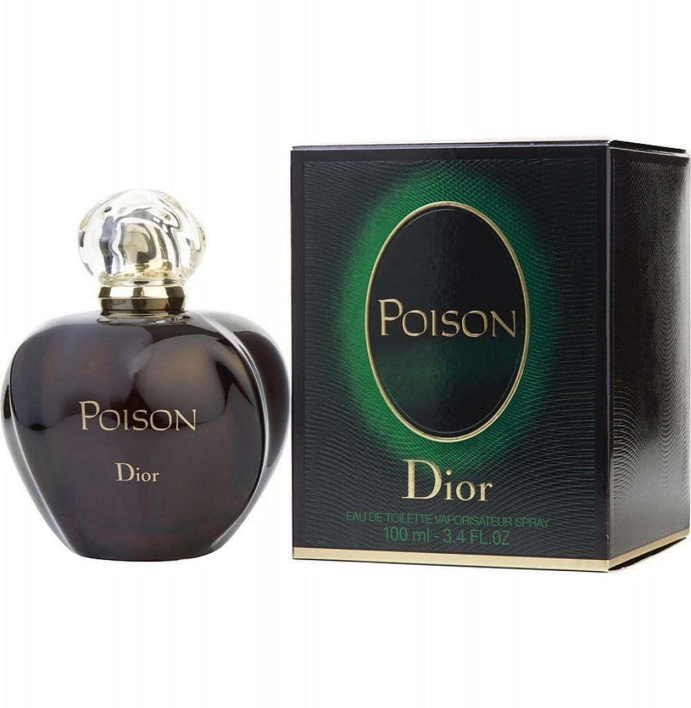 Perfume Christian Dior Poison Eau de Toilette Feminino 100ml