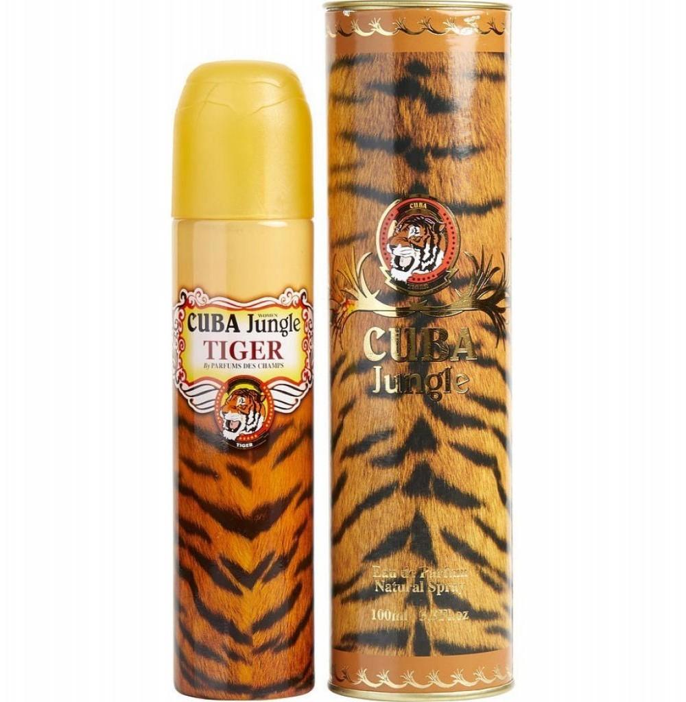 Perfume Cuba Jungle Tigre Eau de Parfum Feminino 100ML