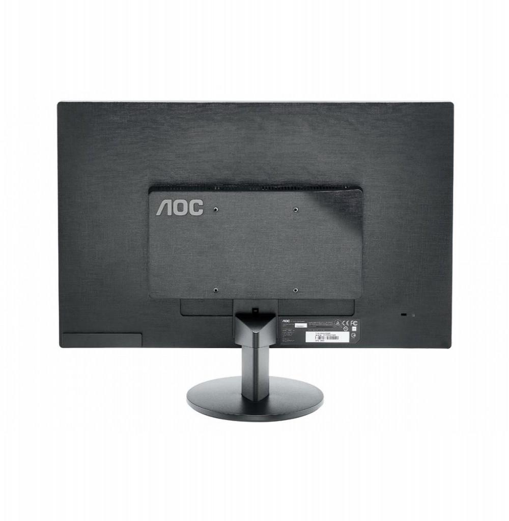 """Monitor LED de 24"""" AOC M2470SWH Full HD com HDMI/VGA Bivolt - Preto"""