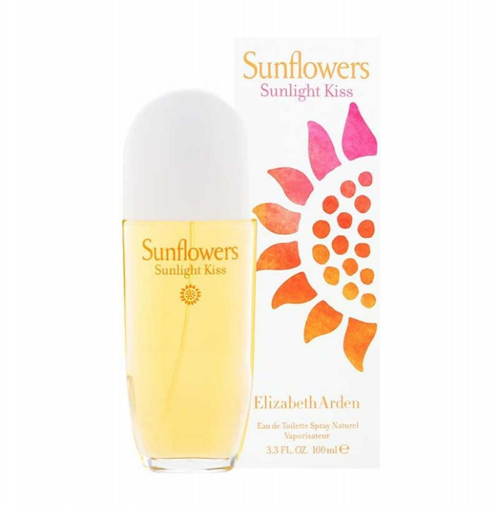 Perfume Elizabeth Arden Sunflowers Sunflight Kiss Eau de Toilette Feminino 100ML