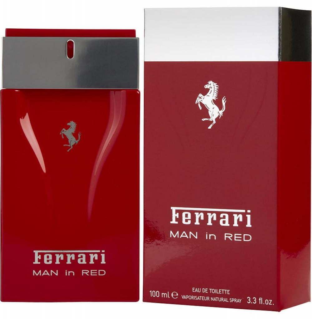 Perfume Ferrari Man In Red Eau de Toilette Masculino 100ML