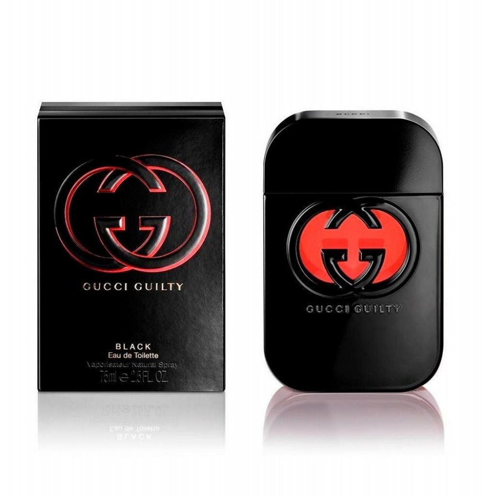 Perfume Gucci Guilty Black Eau de Toilette Feminino 75ML