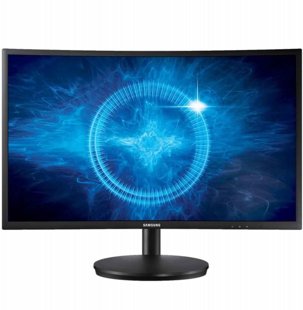 """Monitor Samsung Curvo 24"""" 144HZ/1MS LC24FG70FQLX Gamer"""
