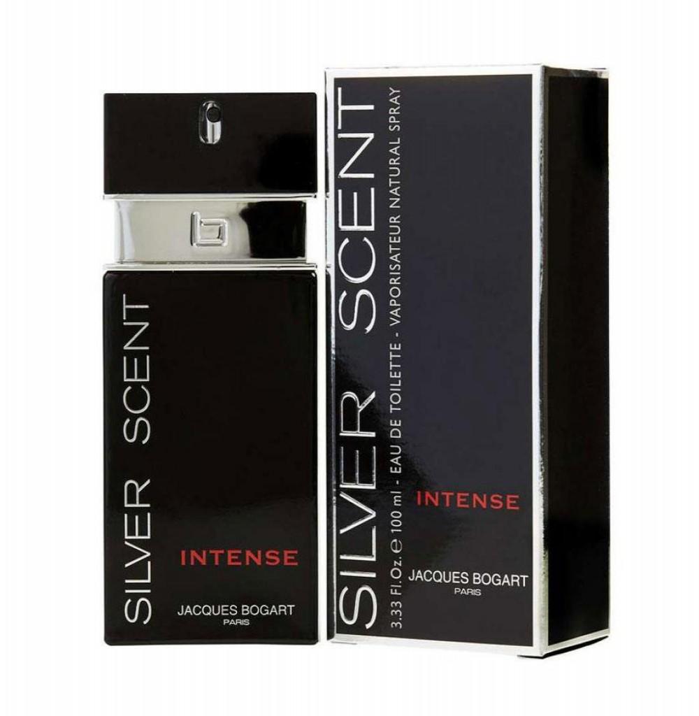 Perfume Jacques Bogart Silver Scent Intense Eau de Toilette Masculino 100ML