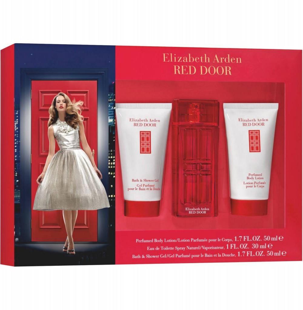 Kit Perfume Elizabeth Arden Red Door Eau de Toilette Feminino 100ML + BL + BS