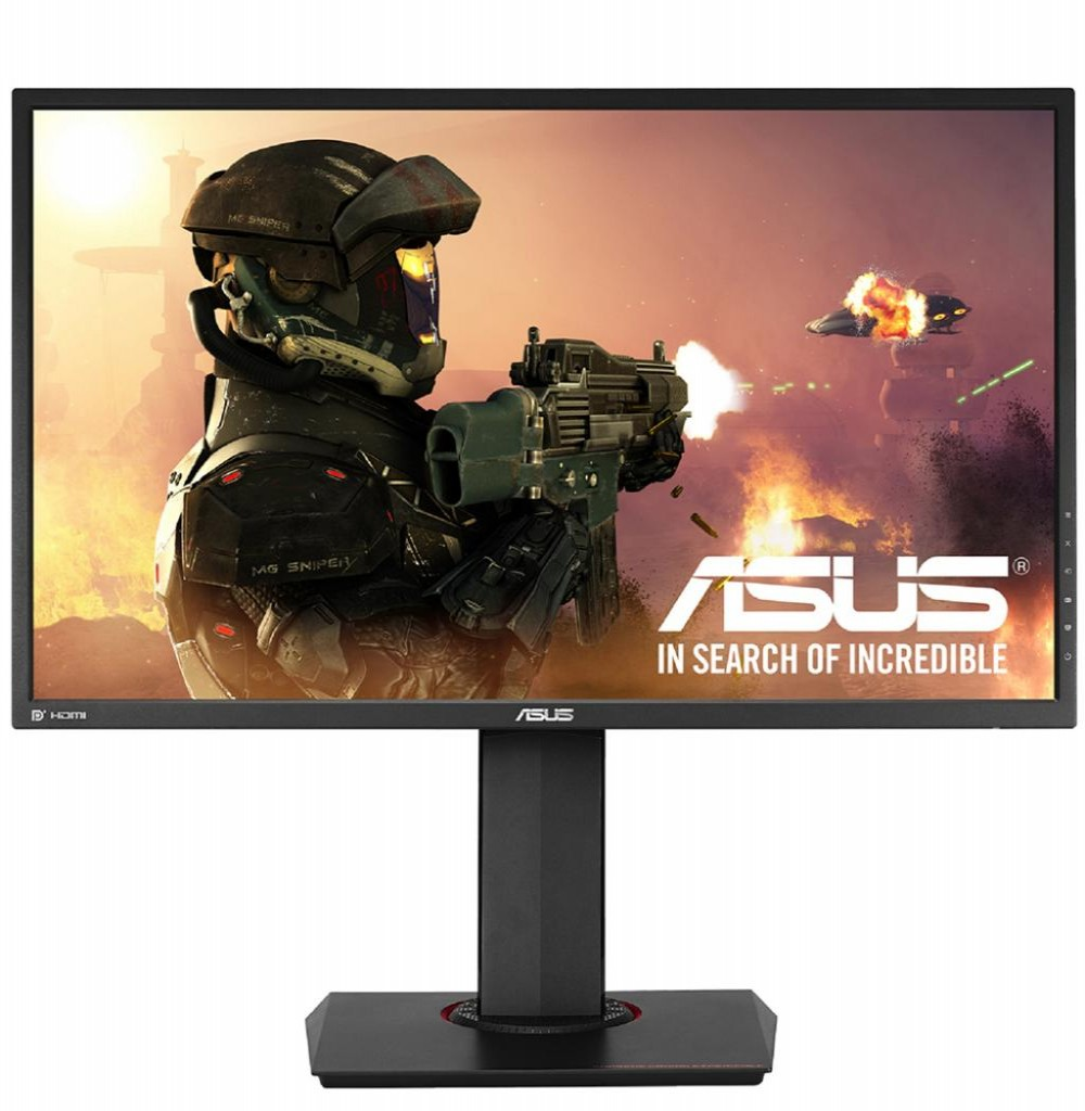"Monitor LED de 27"" Asus Gamer/Gaming MG278Q com Entrada DVI, HDMI, DP e USB3.0 - Preto"