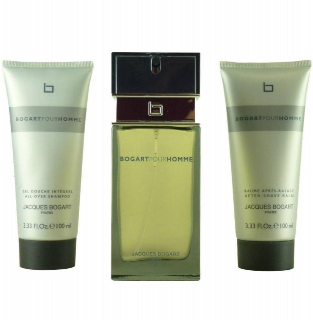 Kit Perfume Jacques Bogart Bogart Eau de Toilette Masculino 90ML  + SG BALSAMO 3 ML