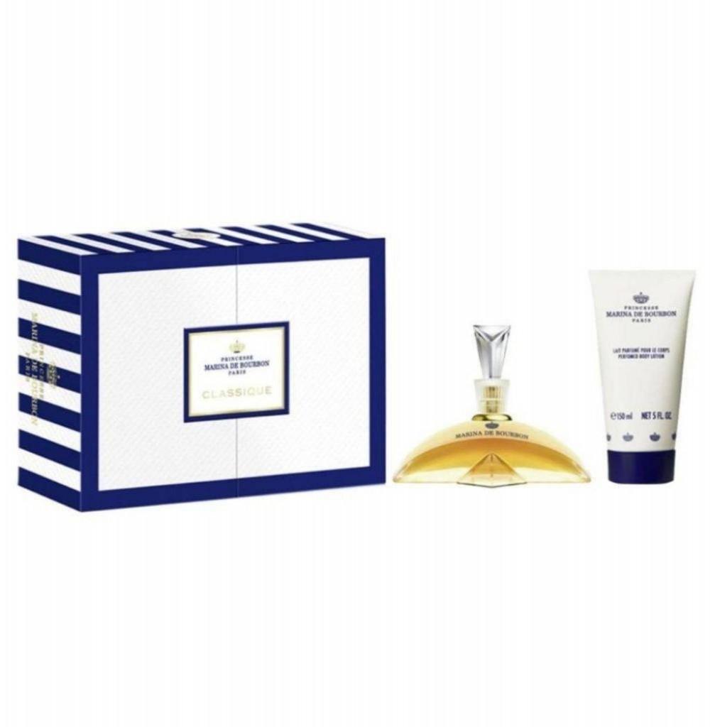 Kit Perfume Marina Bourbon Eau de Parfum Feminino 100ML + Loção corporal