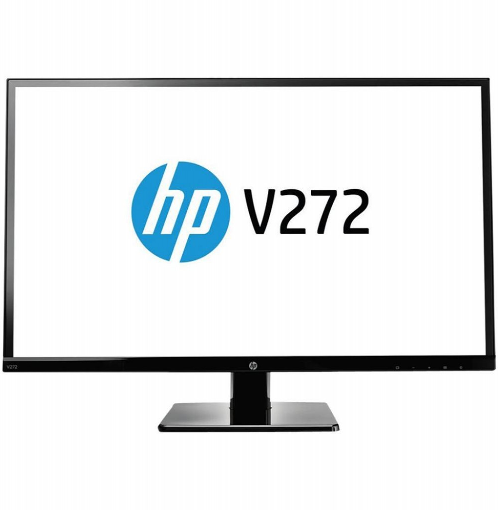 Monitor Hp Led Ips 27 V272 M4b78aa Preto Hdmi/ Dvi-d/ Vga