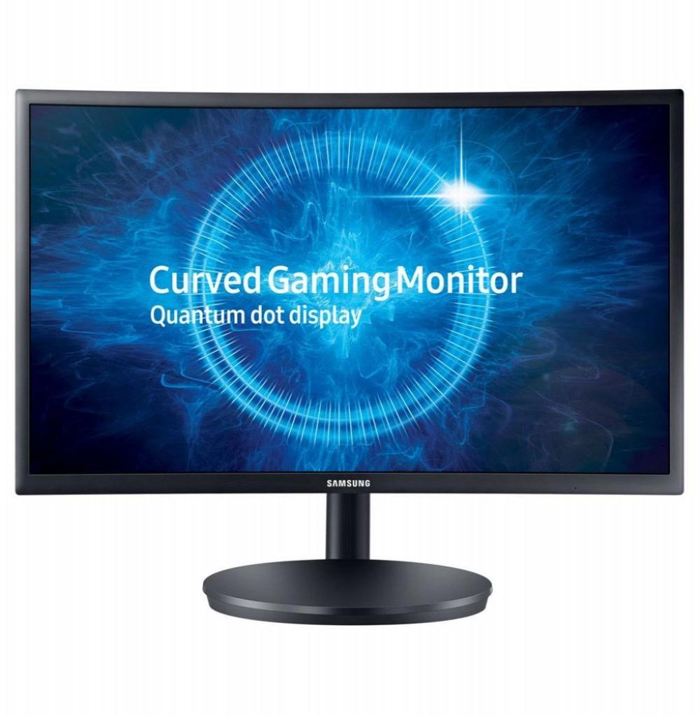 "Monitor Samsung Curvo 27"" LC27FG70FQLX Gamer/144HZ/1MS Preto"