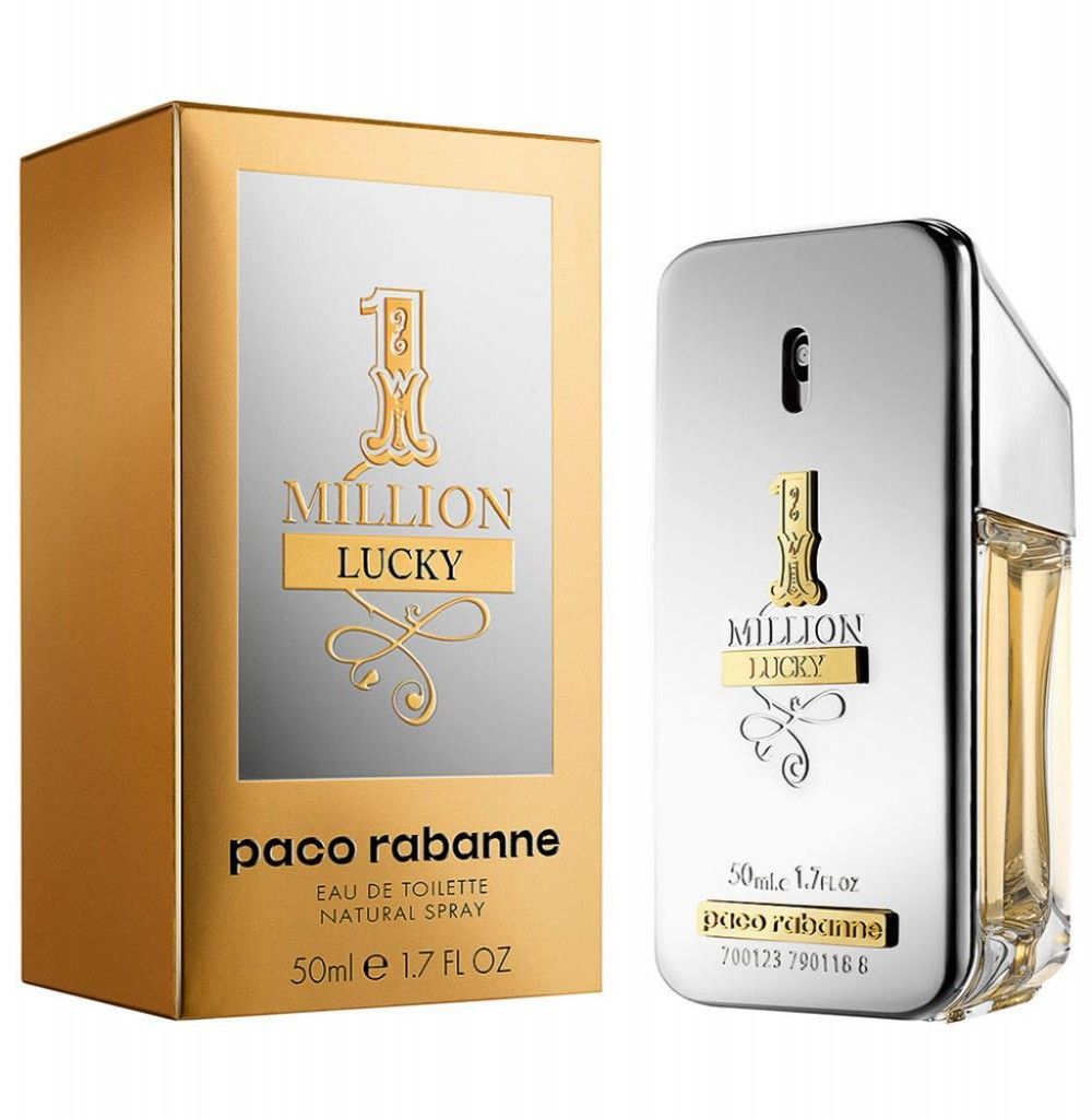 Perfume Paco Rabanne 1 Million Lucky Eau de Toilette Masculino  50ML