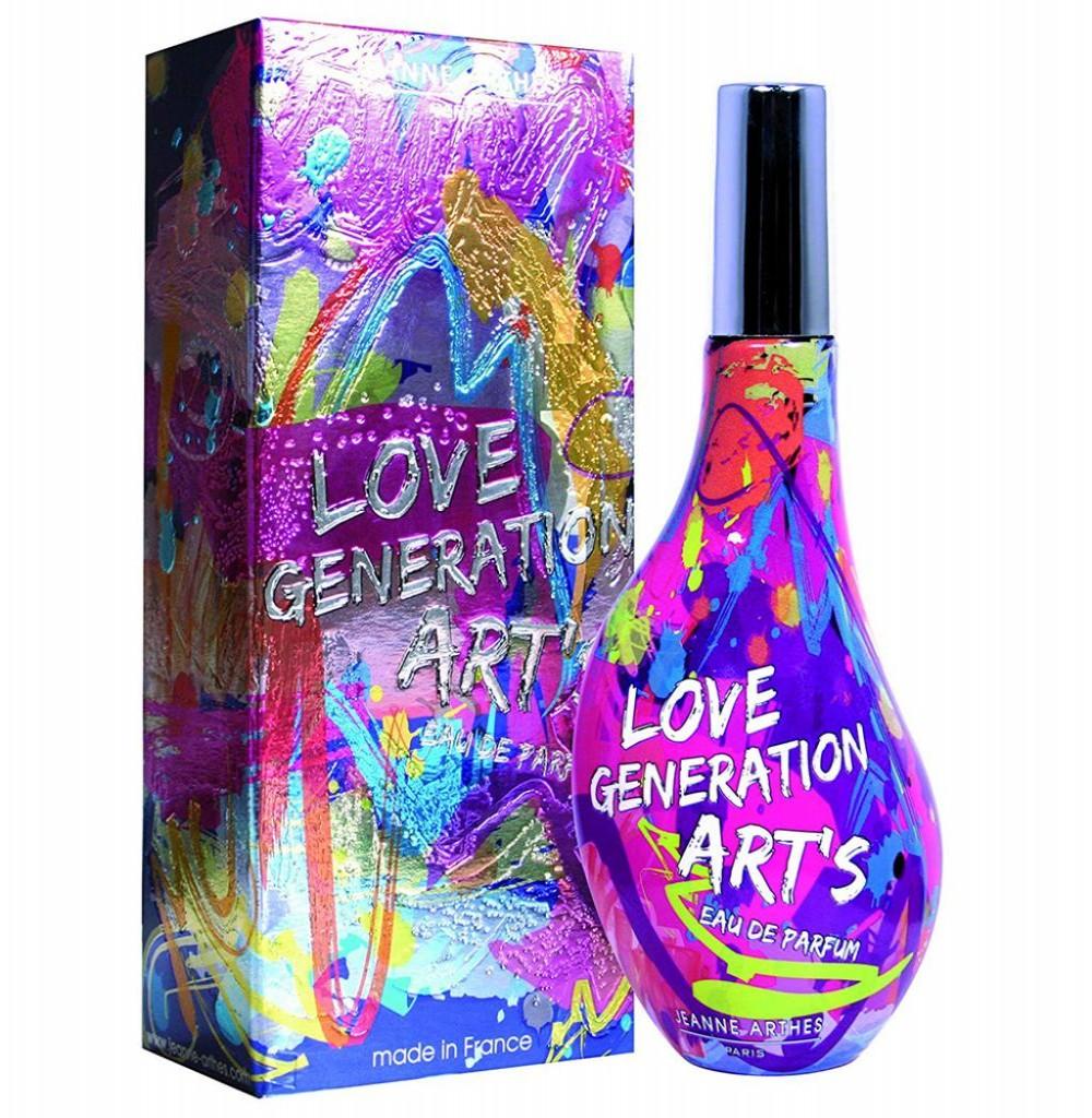 Perfume Jeanne Arthes Love Generation Arts Eau de Parfum Feminino 60ML