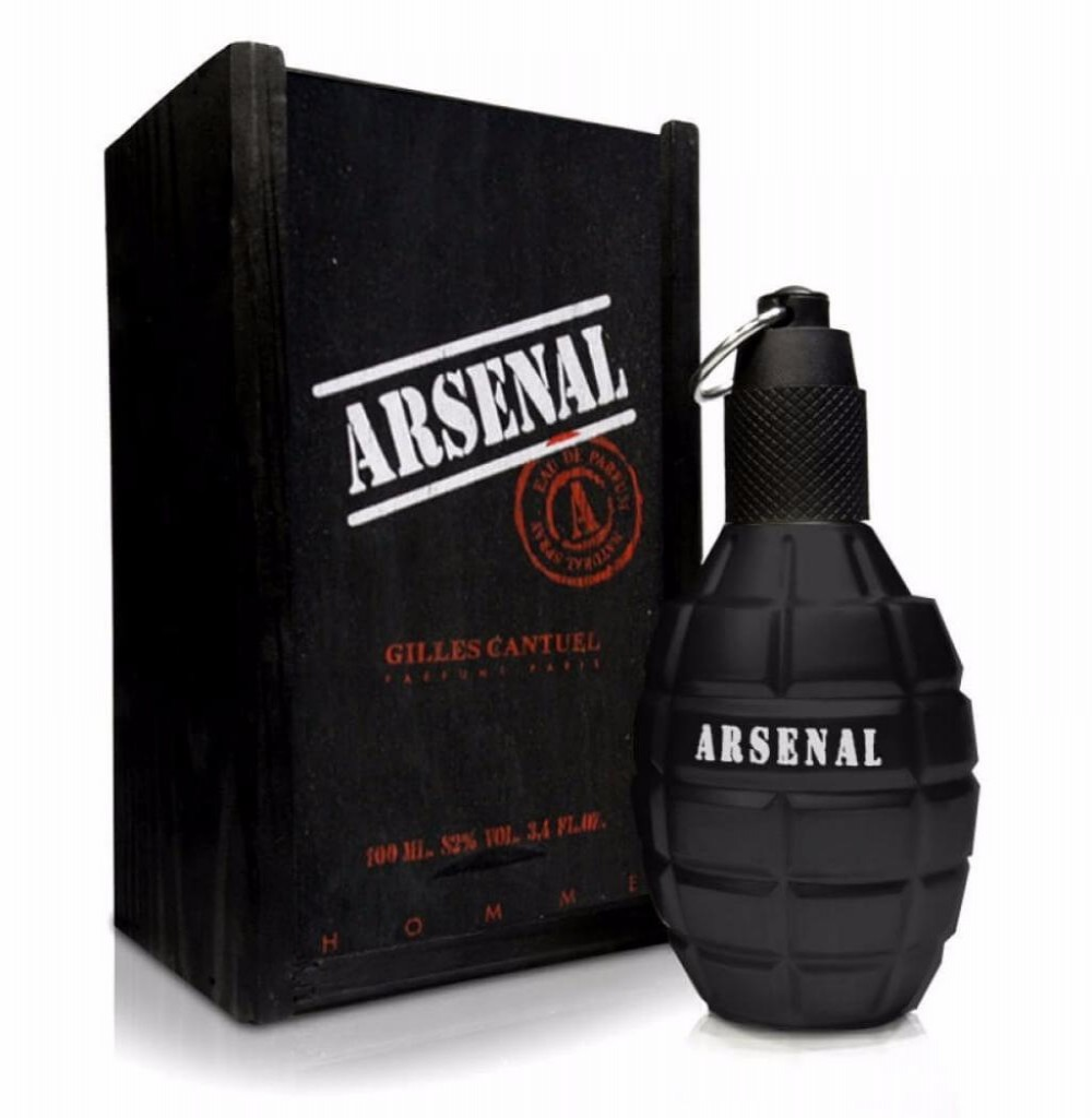 Perfume Gilles Cantuel Arsenal Black Eau de Parfum Masculino 100ML