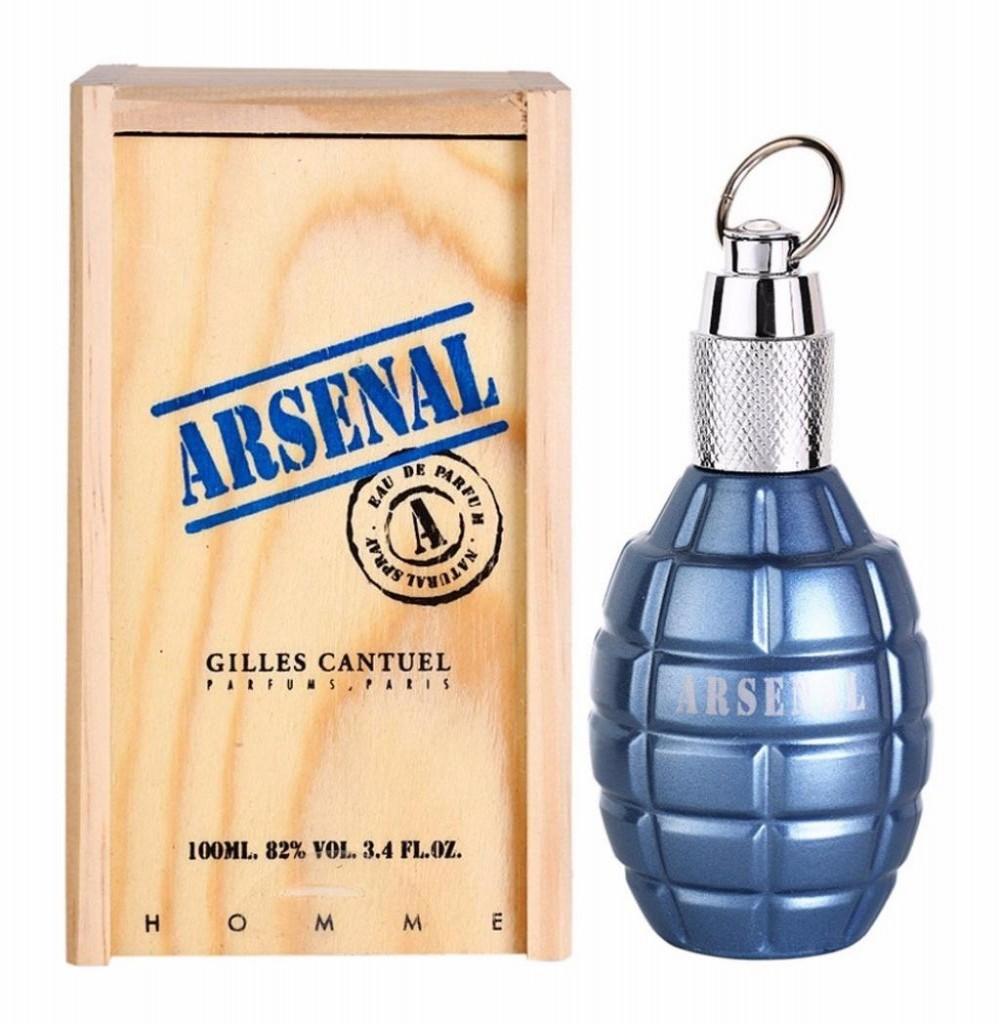 Perfume Gilles Cantuel Arsenal Blue Eau de Parfum Masculino 100ML