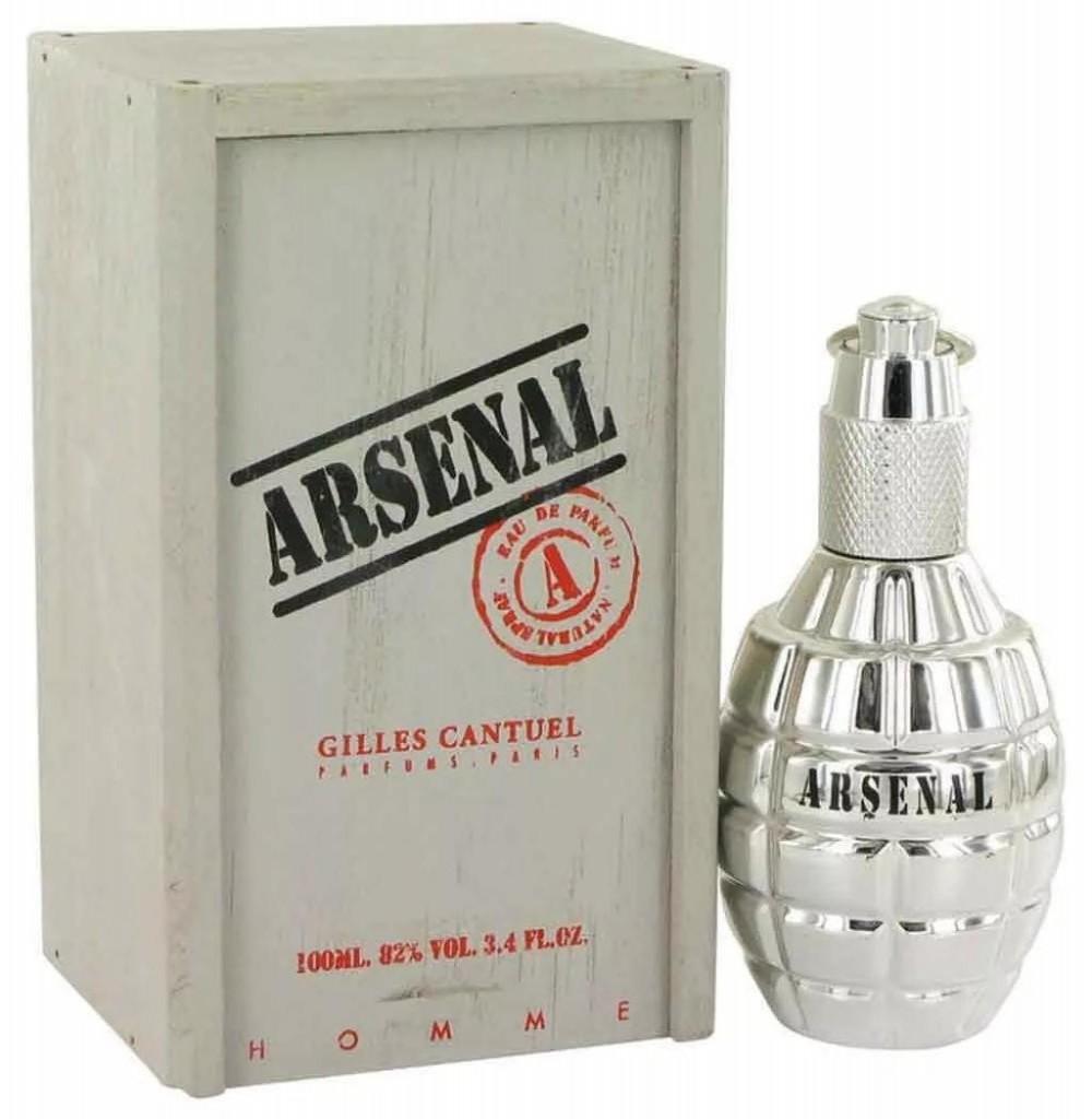 Perfume Gilles Cantuel Arsenal Platinum Eau de Parfum Masculino 100ML