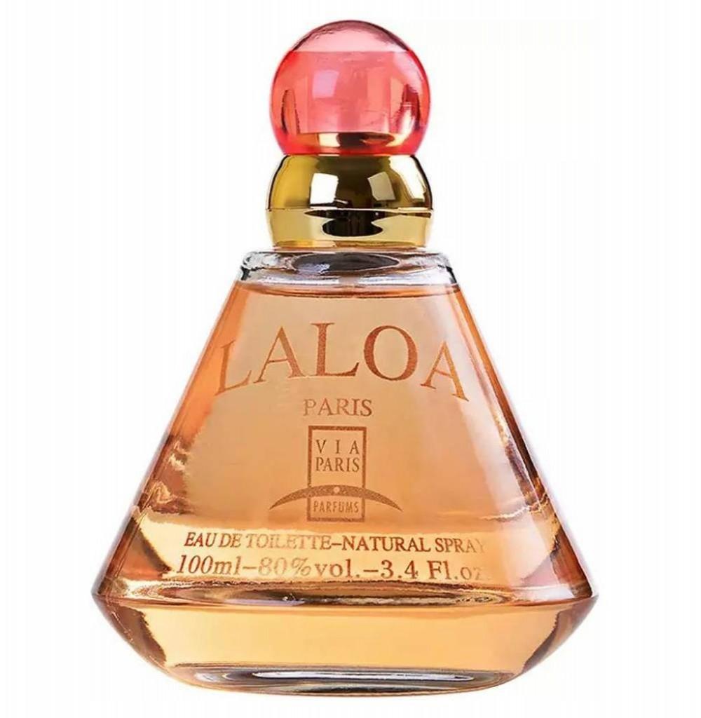 Perfume Via Paris Laola Eau de Toilette Feminino 100ML