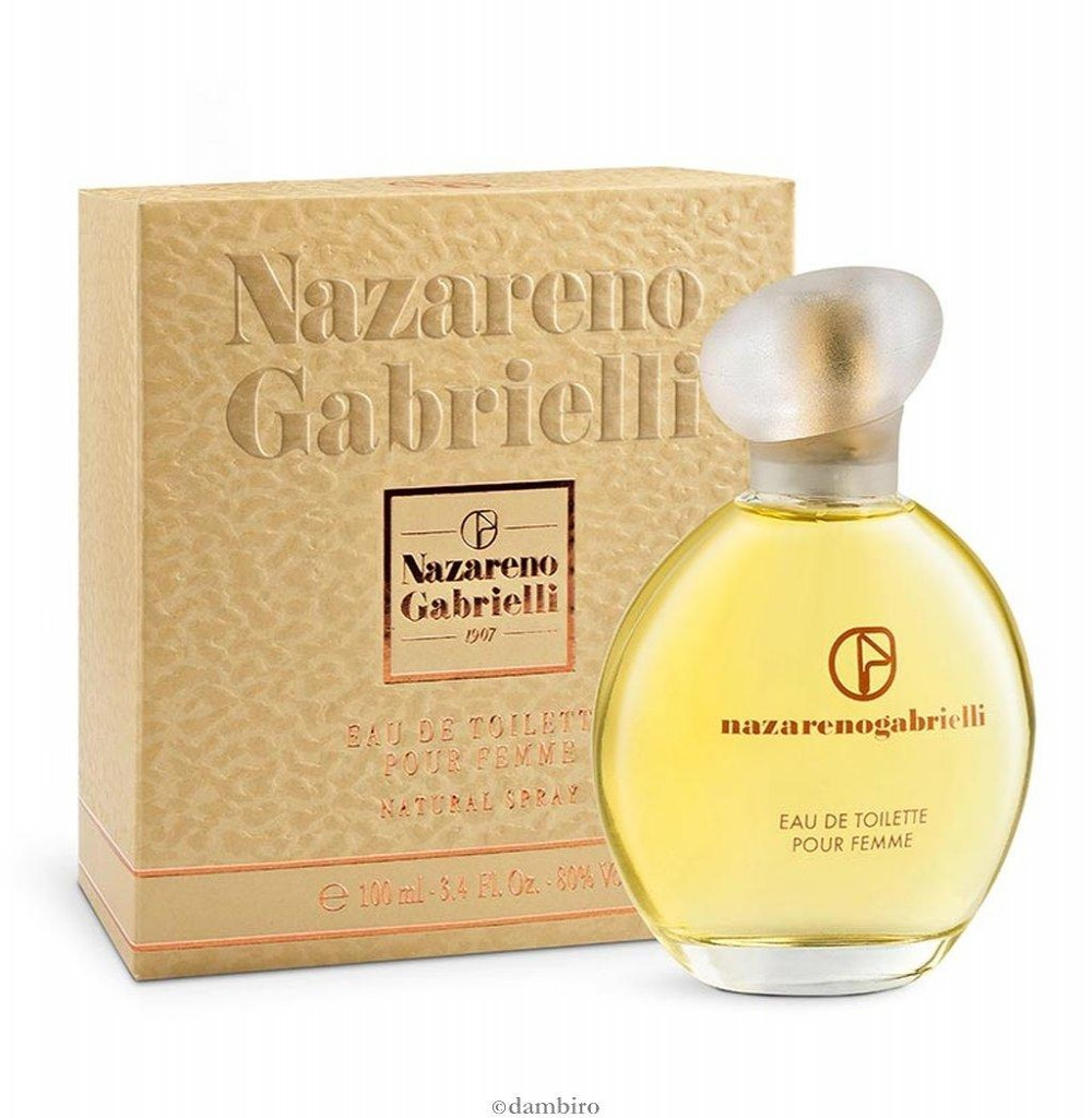 Perfume Nazareno Gabrielli Pour Femme Eau de Toilette Feminino 100ML