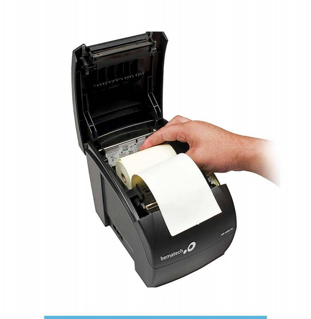 Impressora Térmica Bematech MP-4200 TH USB 100-240V / 50~60Hz - Preto