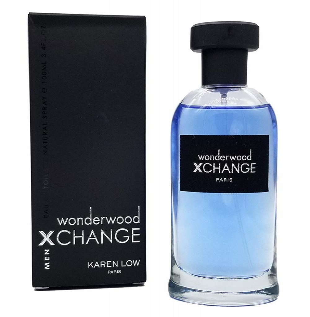 Perfume Karen Low Xchange Wonderwood Eau de Toilette Masculino 100ML