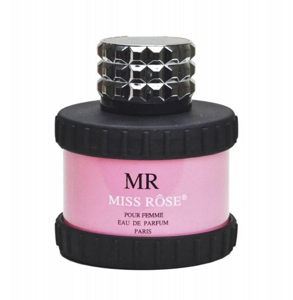 Perfume Miss Rose RM Pour Femme Eau de Parfum Feminino 100ML