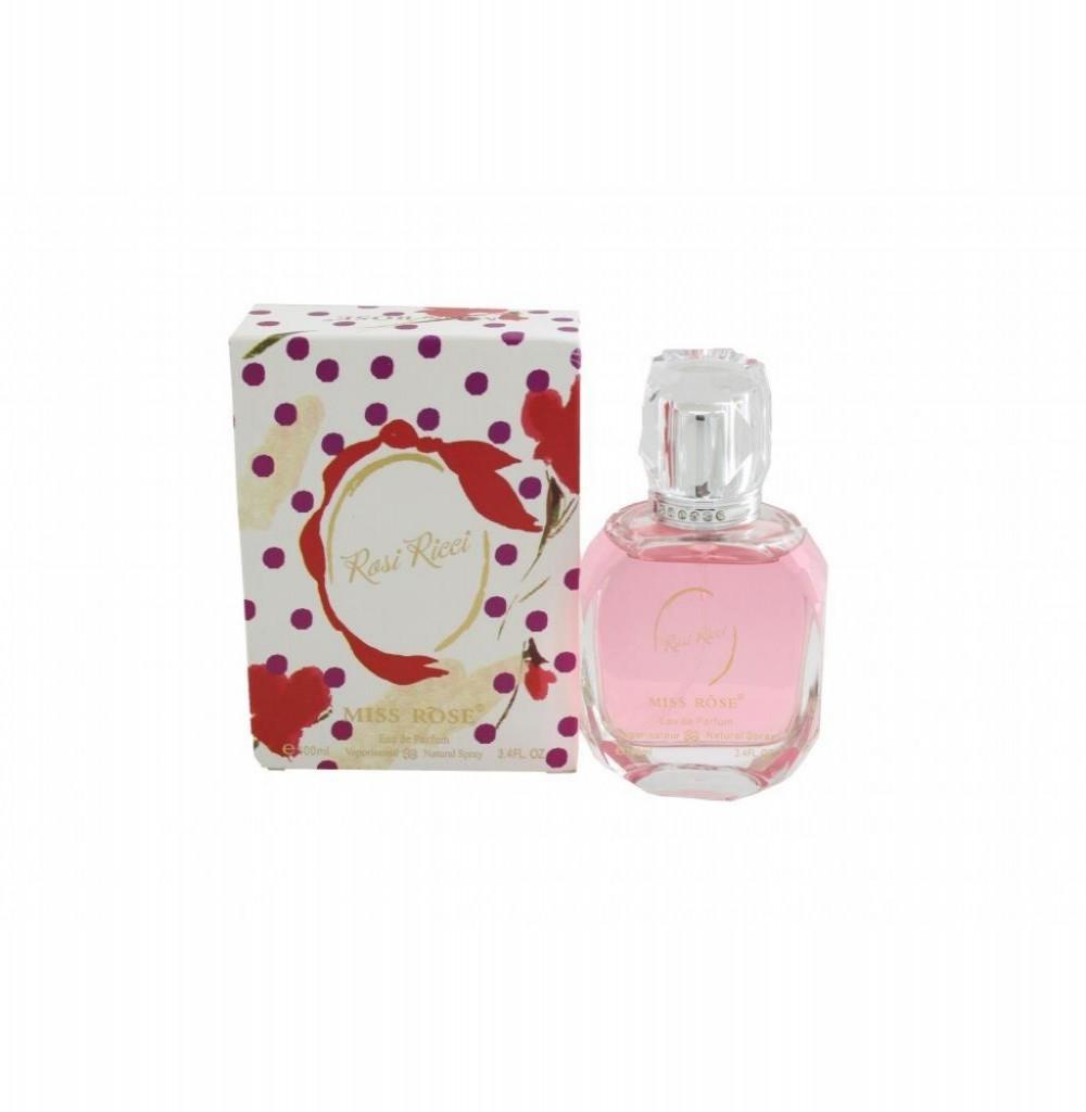 Perfume Miss Rôse Rosi Ricci  Eau de Parfum Feminino 100ML