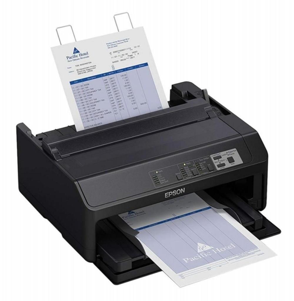 Impressora Matricial Epson FX-890II Bivolt Cinza 220V