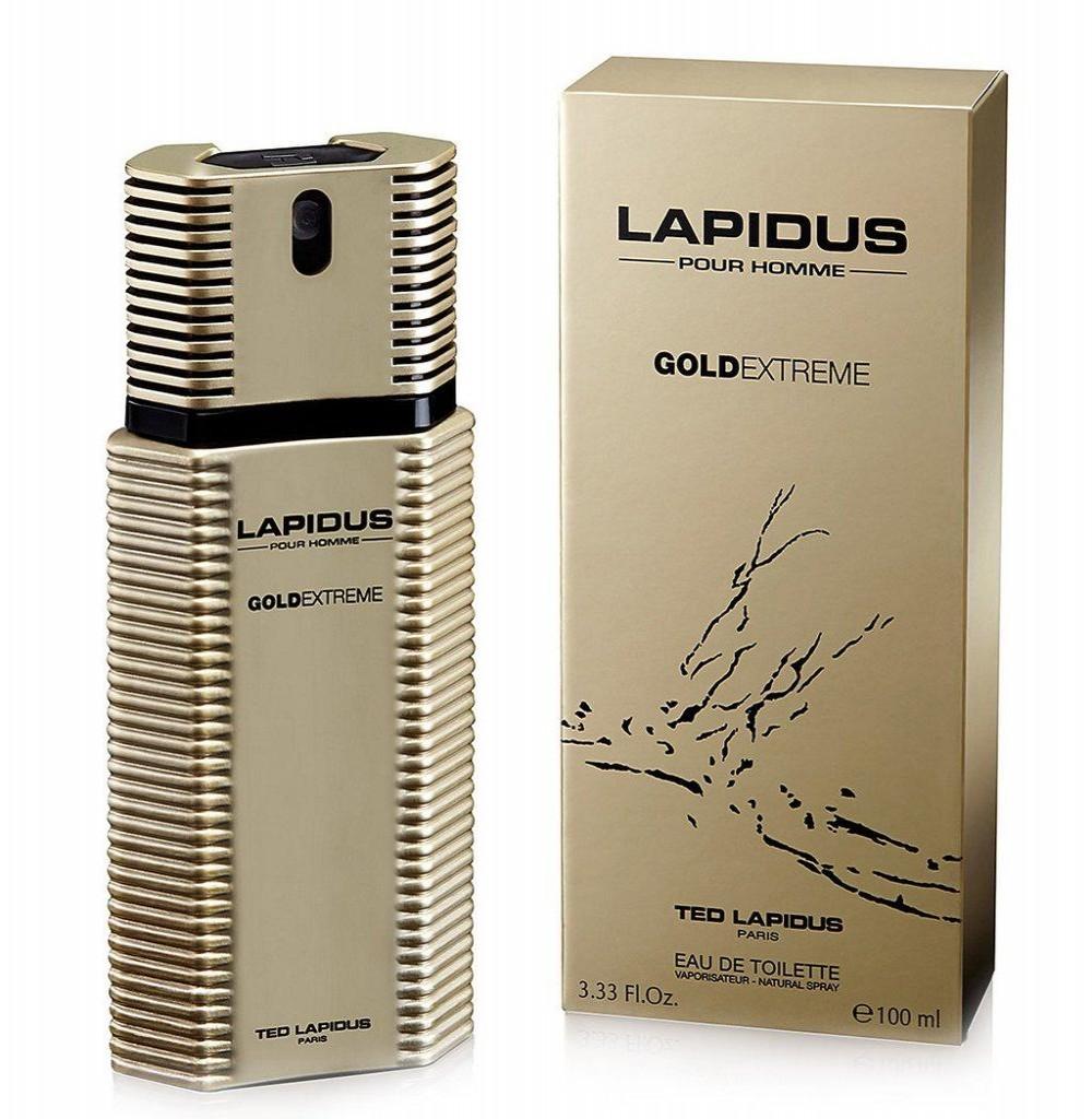 Perfume Ted Lapidus Gold Extreme Eau de Toilette Masculino 100ML