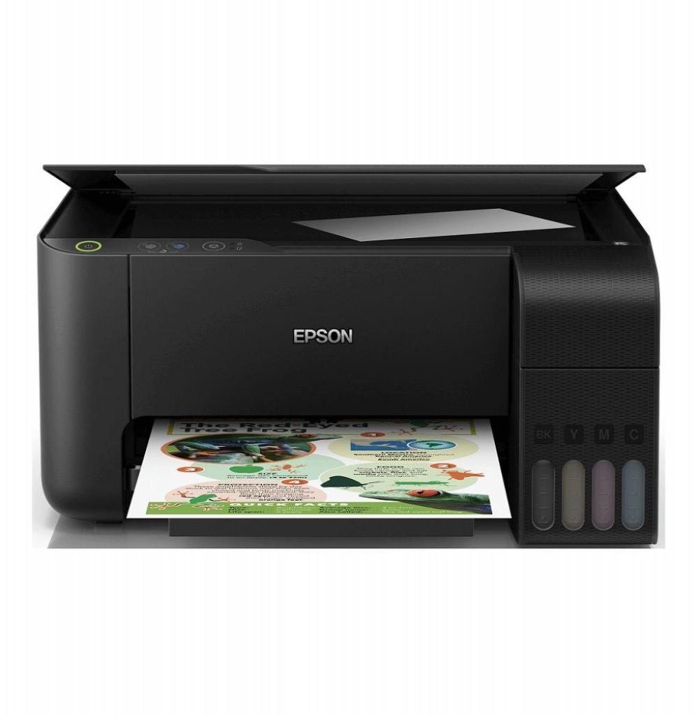 Impressora Epson EcoTank L3110 3 em 1 Bivolt - PretO