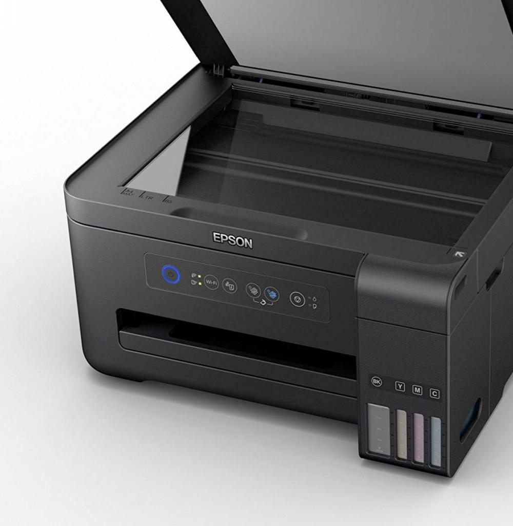 Impressora Multifuncional Epson EcoTank L4150 Inkjet 3 em 1 com Wi-Fi Bivolt - Preta