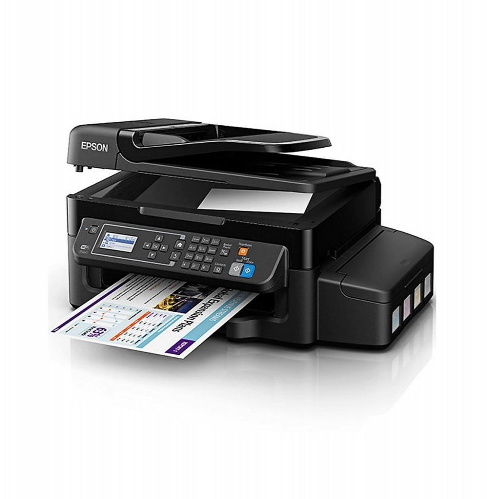 Impressora Epson EcoTank L575 4 em 1/Wi Fi/Bivolt - Preto
