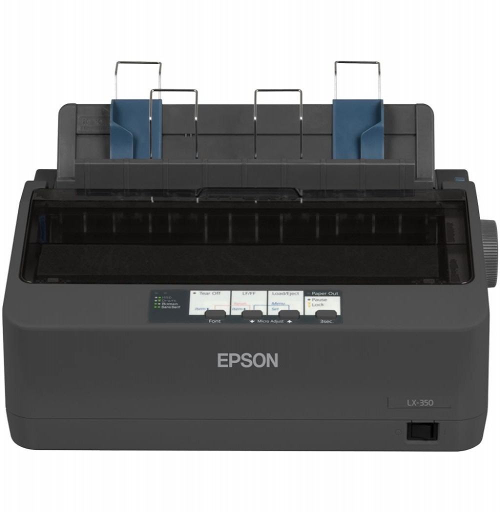 Impressora Epson LX-350 9 Pinos Bivolt USB/PAR S/G