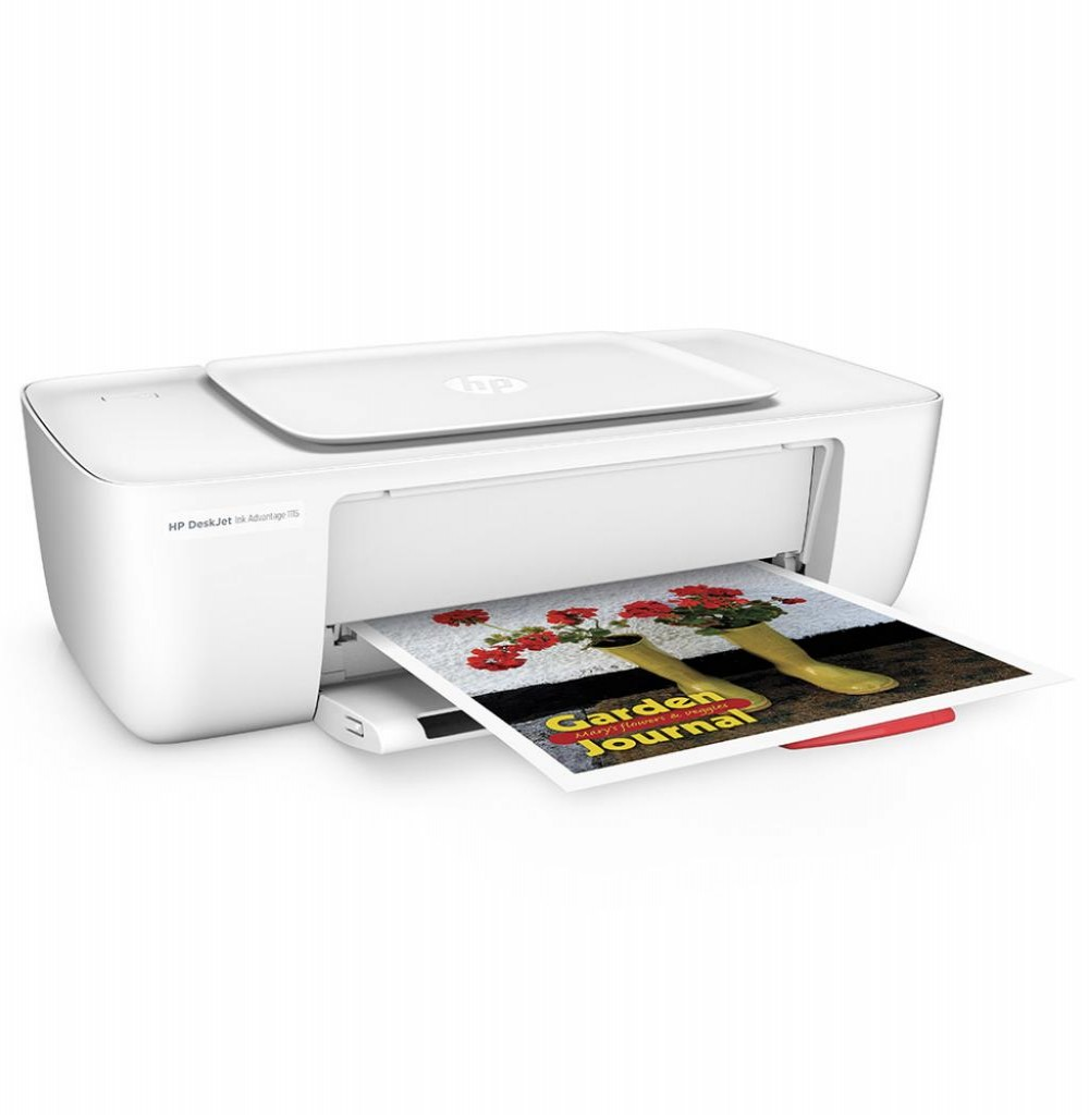 Impressora HP Ink Advantage Deskjet 1115 Bivolt - Branco