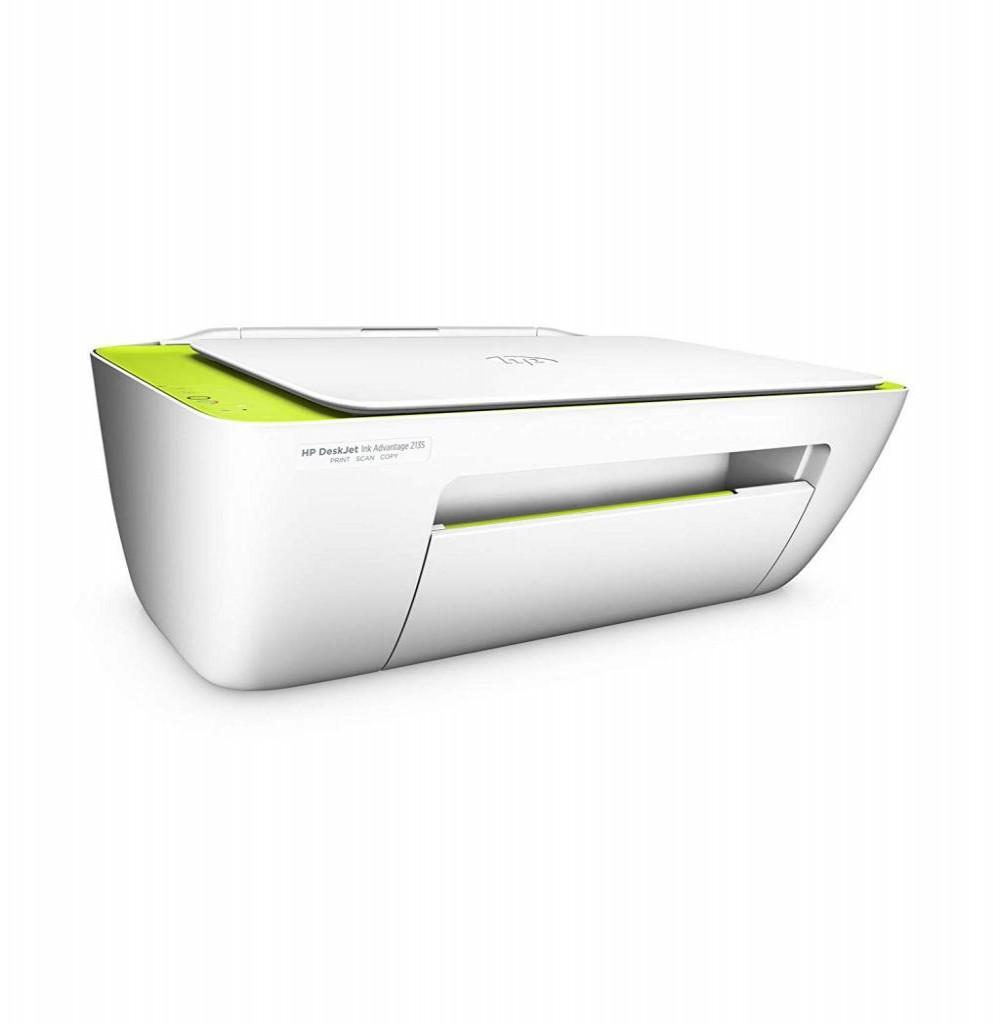 Impressora Multifuncional HP Deskjet Ink Advantage 2135 3 em 1 Bivolt - Branca