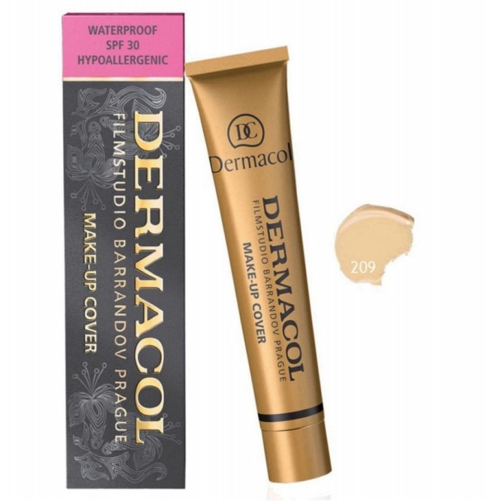 Base Dermacol Makeup Cover - Cor 209 30g