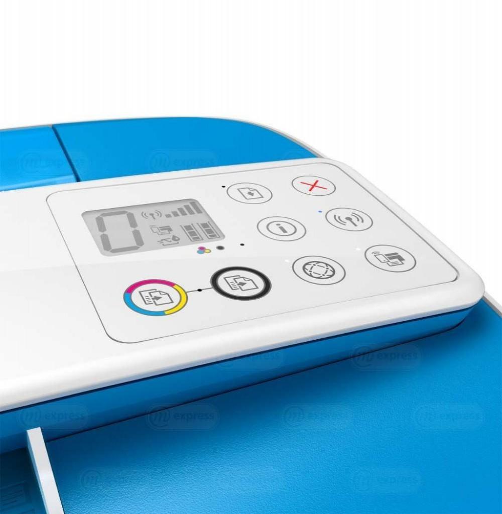Impressora HP Deskjet Ink Advantage 3775 (J9V87A) Wireless 3 em 1 Bivolt - Branca