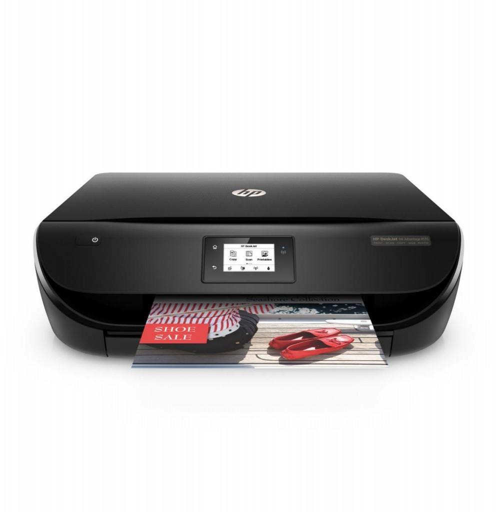 Impressora HP DeskJet Ink Advantage 4535 WiFi Multifuncional 4x1 Bi Volt