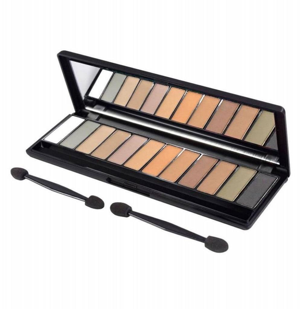 Paleta de Sombra Gati Paris GES-004 N°01 Cores Neutras 12 Cores