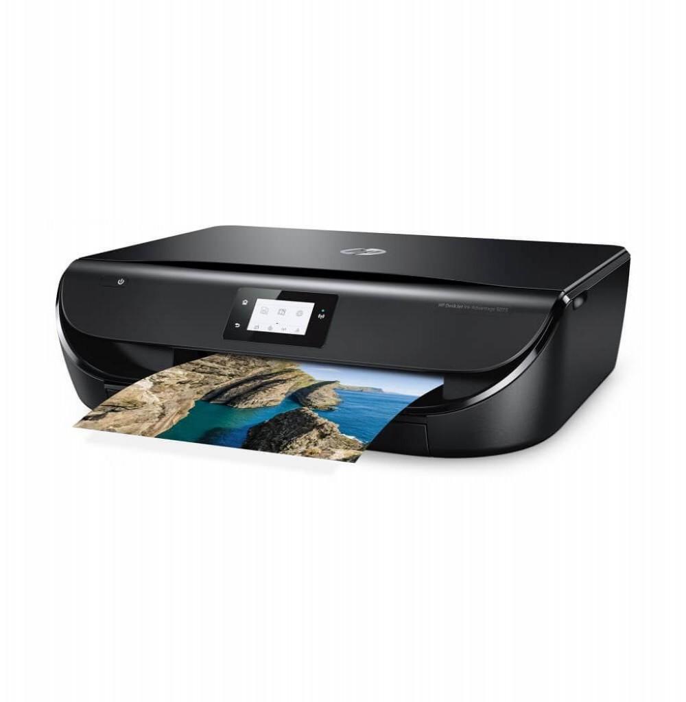 Impressora HP DeskJet 5075 3 em 1 com Wi-Fi Bivolt - Preta