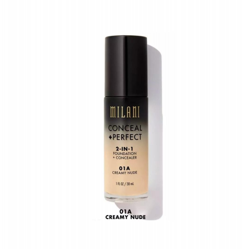 Base Milani Conceal + Perfect 2in1 N01 A Creamy Nude
