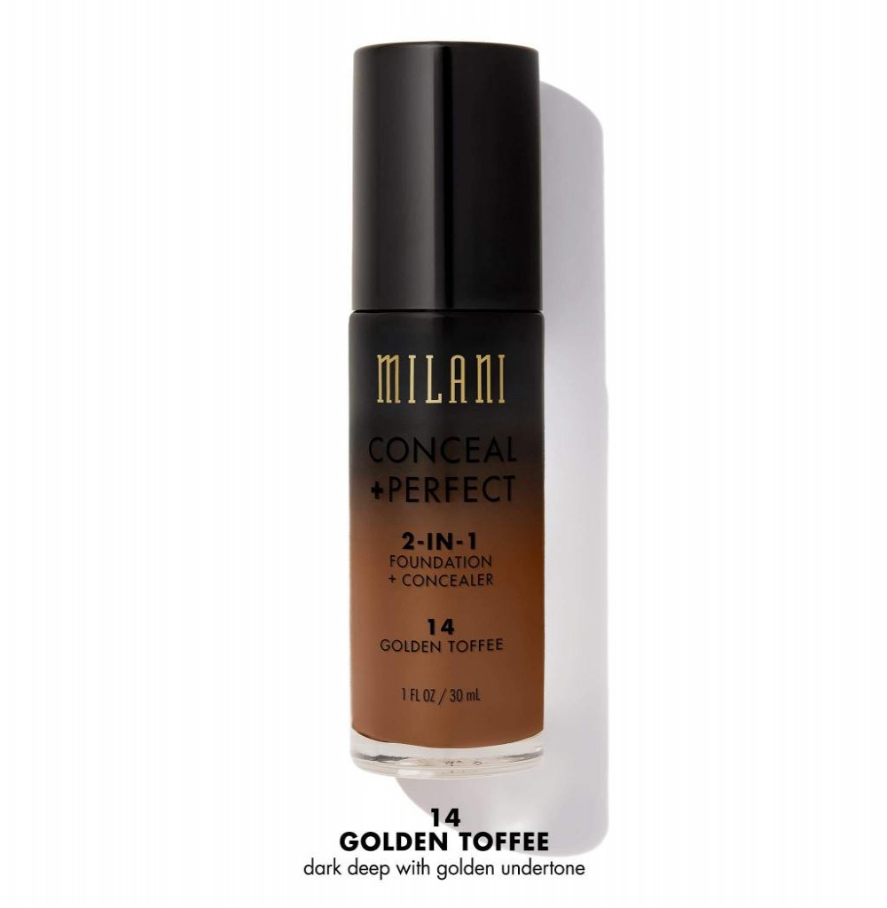 Base Milani Conceal + Perfect 2in1 14 Golden Toffee 30ML