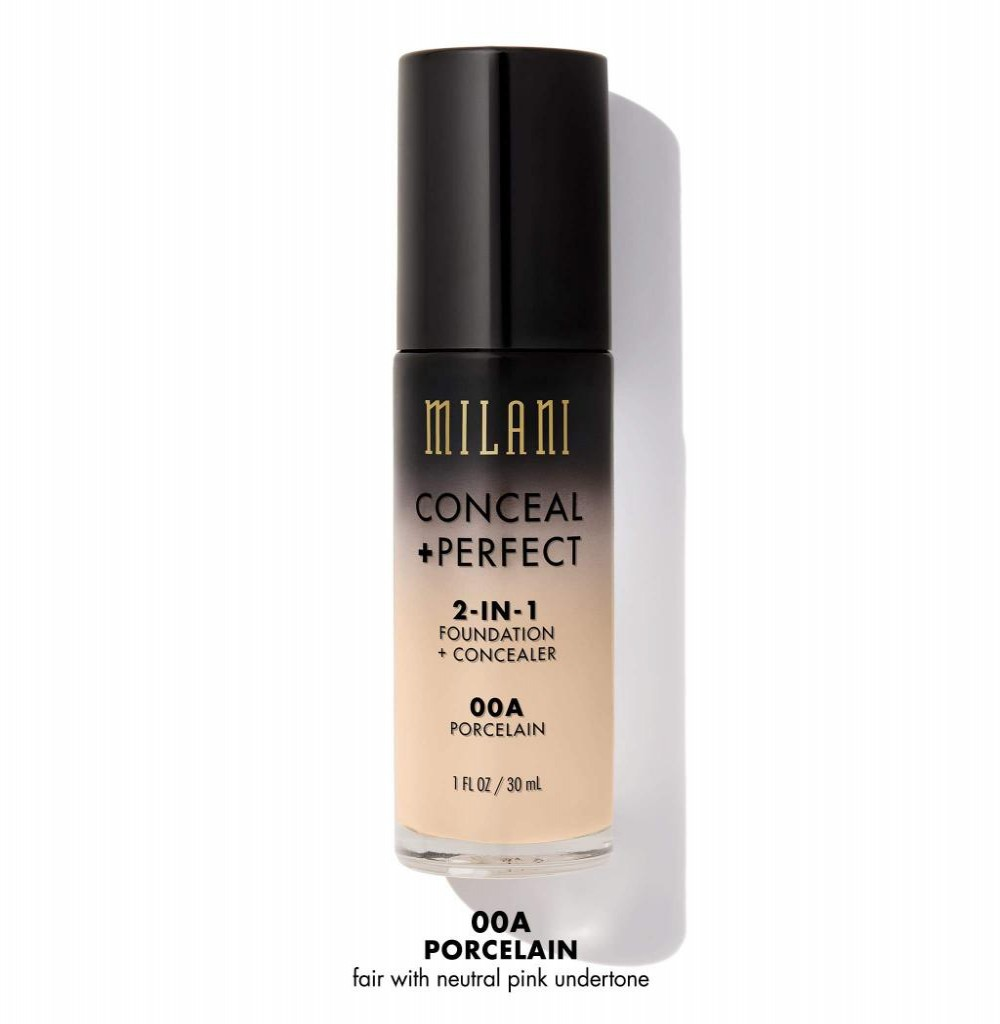 Base Milani Conceal + Perfect 2in1 00A Porcelain 30ML