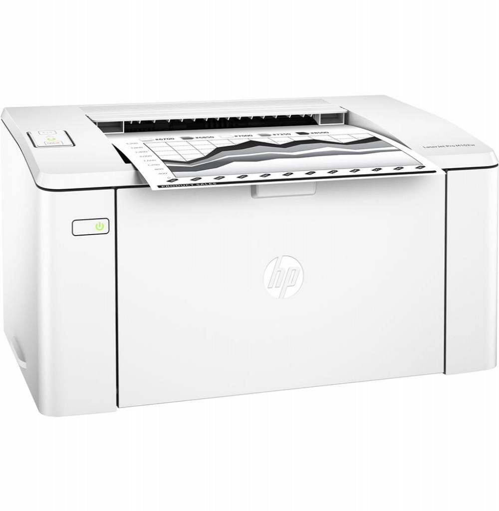 Impressora HP LaserJet Pro M102w Wi Fi 220-240V / 50~60Hz - Branca