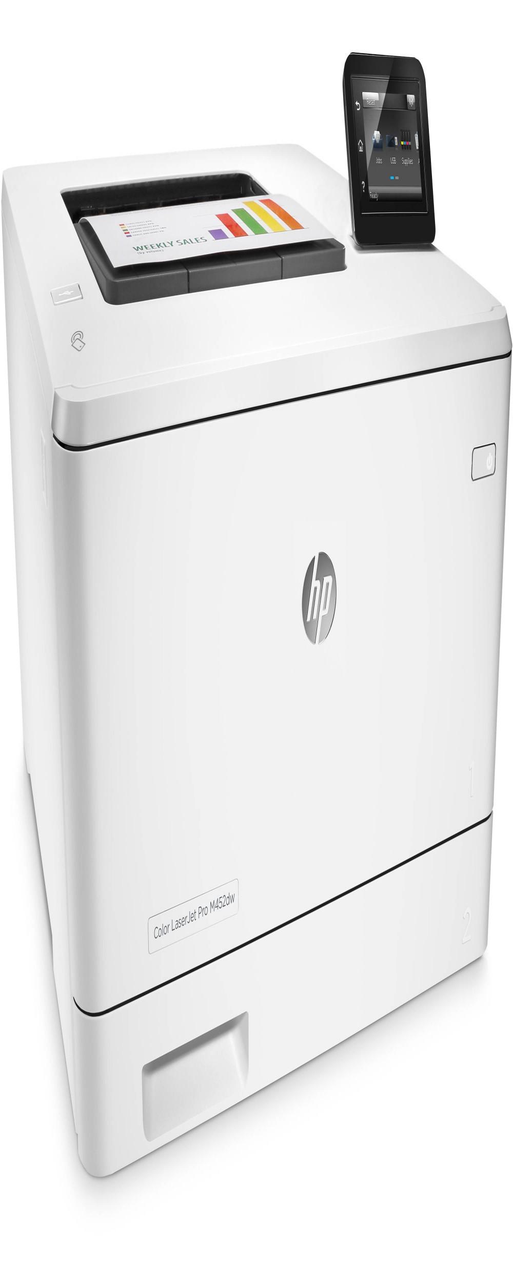 Impressora Hp Laserjet Color Pro M452dw 110V   S/G