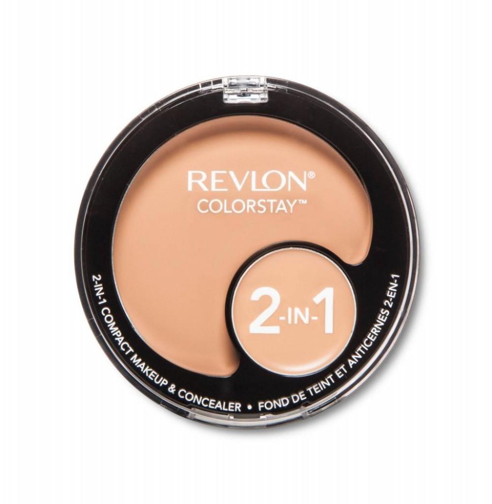 Base Revlon 2em1 Compact 240 8009-3 Bege Medio