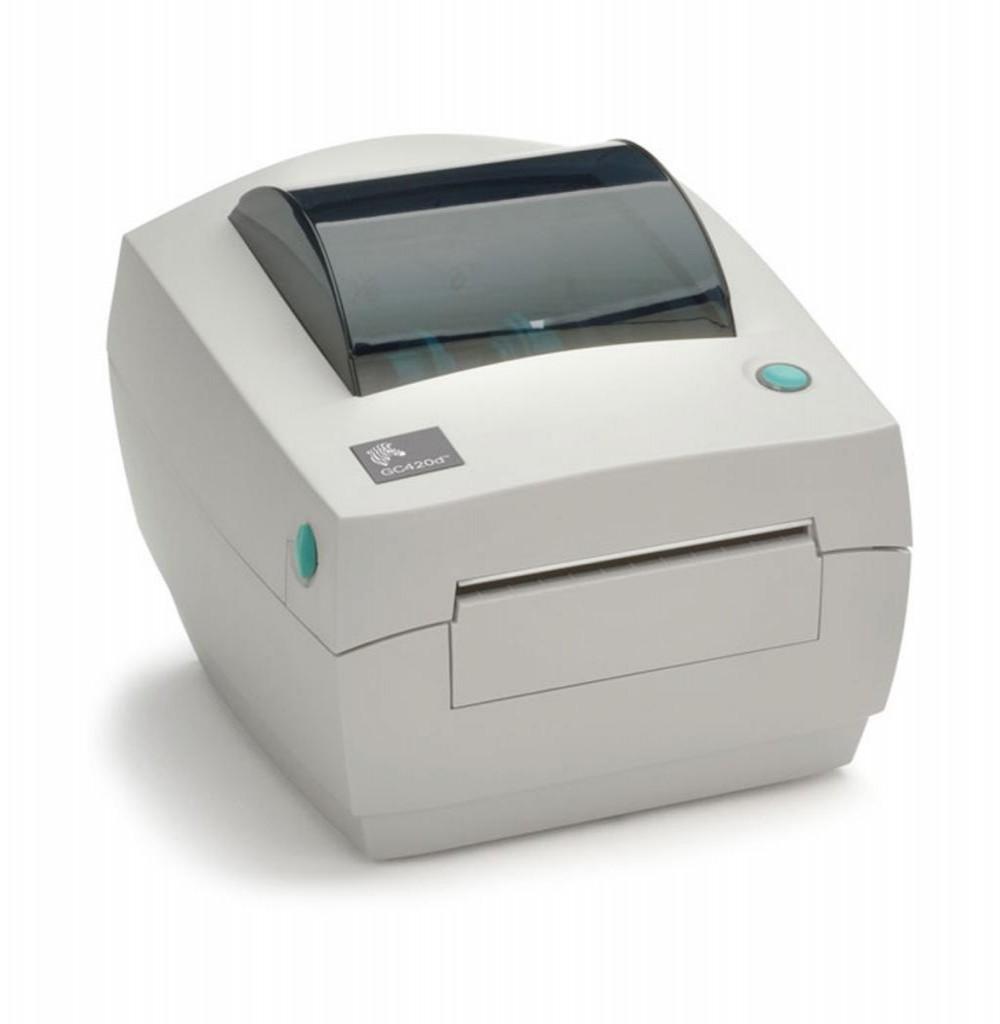 Impressora Térmica Zebra GC420D Bivolt Branco