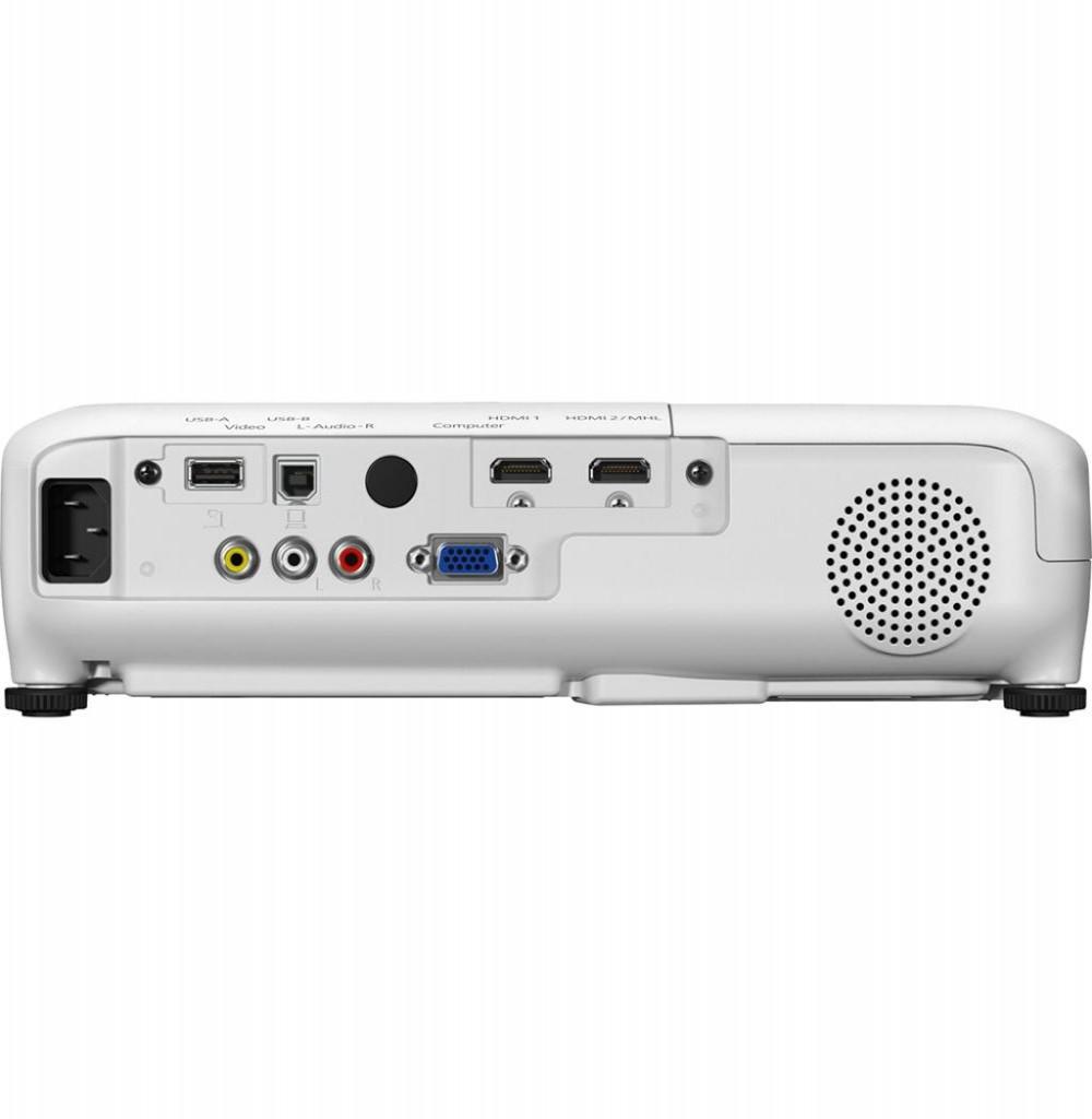 Projetor Epson Projetor PowerLite Home Cinema 1040 (RB) 3000 Lúmens HDMI/USB - Branco