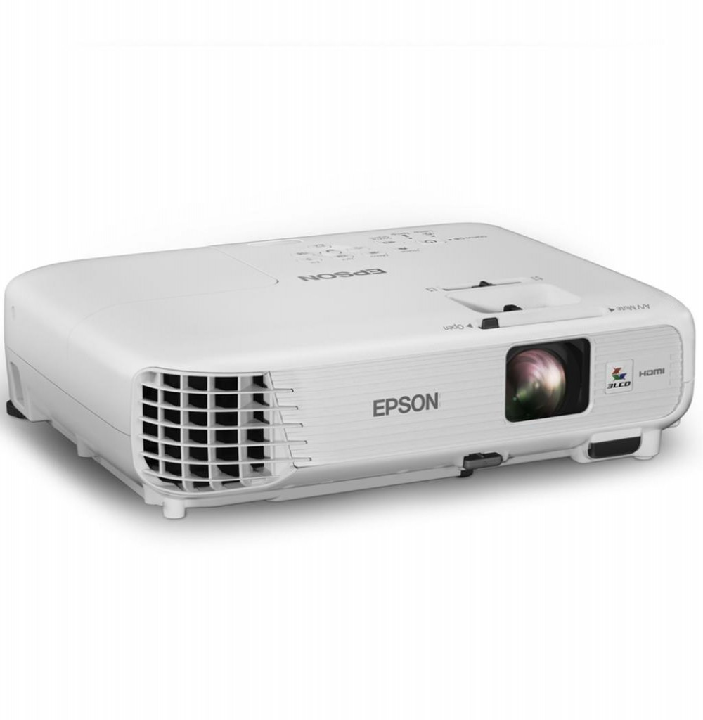 Projetor Epson PowerLite Home Cinema 740HD (RB) 3000 Lúmens HDMI/USB - Branco