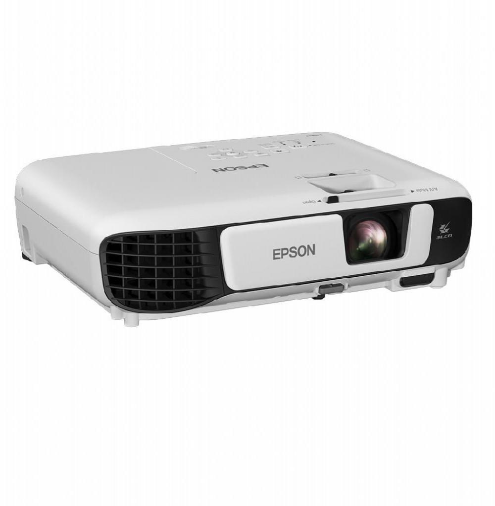 Projetor Epson PowerLite X41+ de 3.600 Lúmens Wi-Fi/HDMI Bivolt + Bolsa - Branco